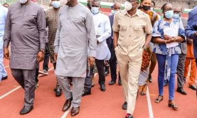 Sport Minister Hails Edo Governor For Rehabilitation of Ogbemudia Stadium