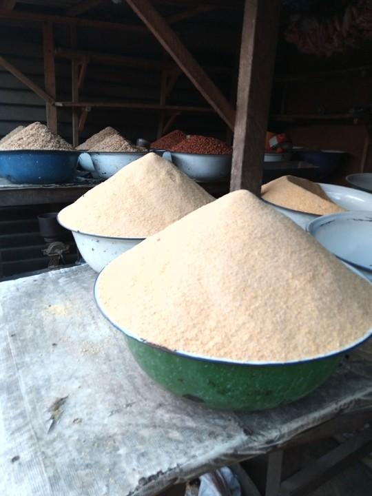 How Much Is A Bucket Of Paint : bucket, paint, Bought, Paint, Bucket, Garri, N1000, Area., Area?, Nigeria