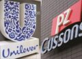 PZ Cussons, Unilever driveconsumer goods indexup by0.31%
