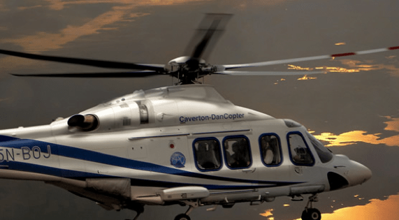 What OAS helicopters stands to gain by partnering Abu Dhabi Aviation
