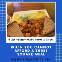 3 SQUARE MEAL