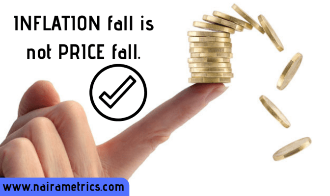 Inflation and price fall