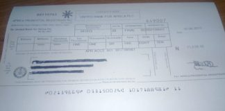 Dividend Warrant
