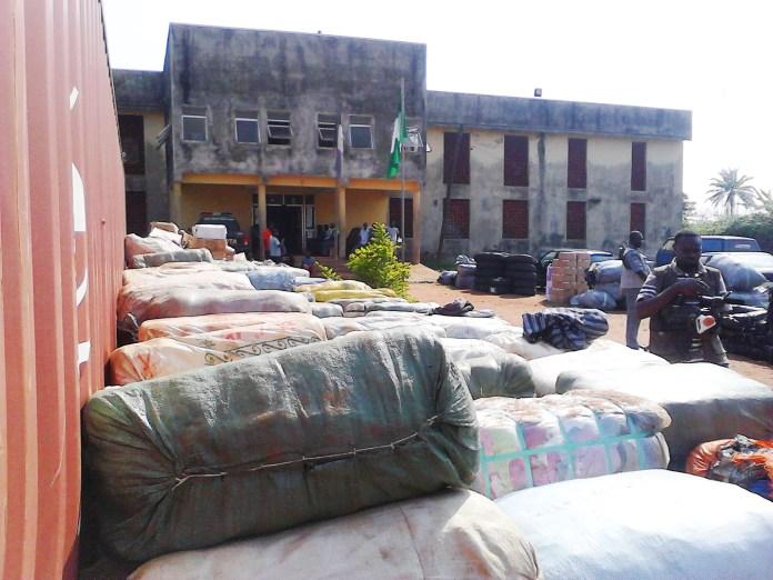 Nigeria Customs Service impound textile materials worth over N11 billion