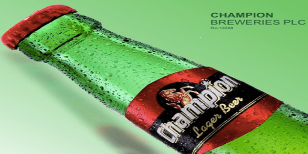 Champion Breweries reports N86 million profit (2017 6 Months)