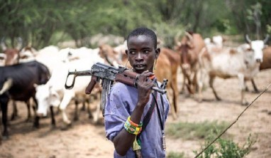 Finally! President Buhari  Rolls Out The Tanks Against Fulani Herdsmen