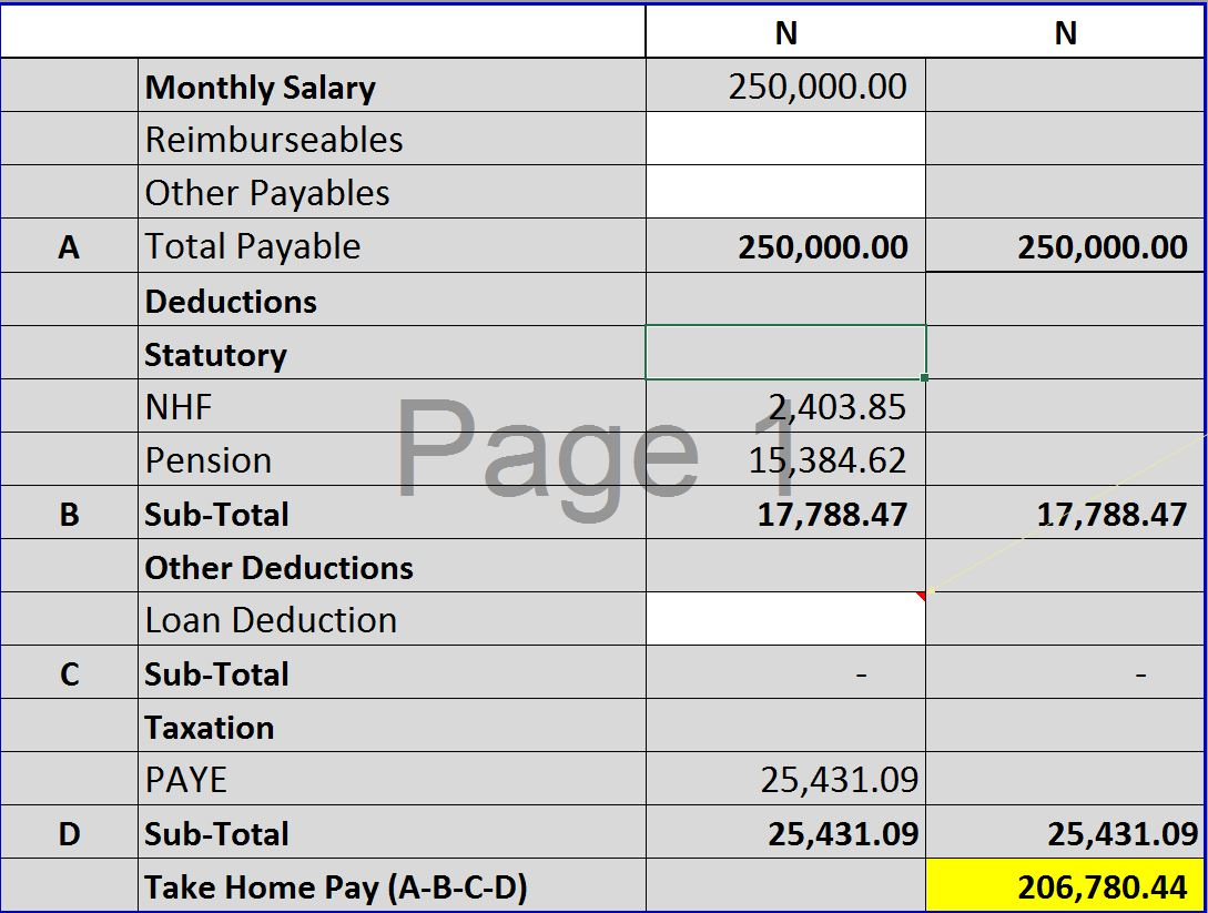 Salary Earner How To Calculate Your Taxes Using The New