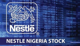 Outstanding shares of all companies listed on the Nigerian Stock Exchange