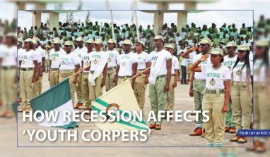 How recession affects 'youth corpers'