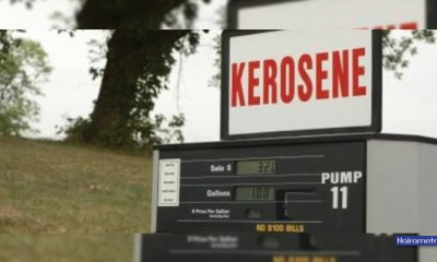 Average prices of Kerosene, Diesel and Cooking Gas in Nigeria