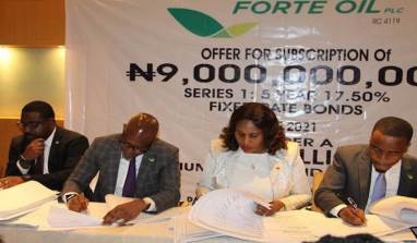 Official: Forte Oil Plc Closes N9b Series 1 5year Fixed Rate Bond Issue