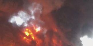 Nigeria Breweries Fire