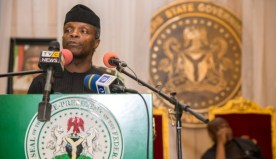 2017 Budget Signed: Full Text of Osinbajo budget signing speech