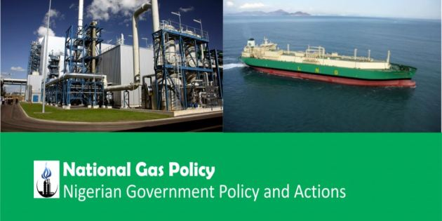 This is a copy of the FG approved National Gas Policy
