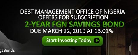Details of FGN Savings Bond for August 2017