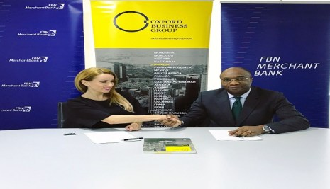 FBN Merchant Bank signs MOU with Oxford business group to publish 2017 report on Nigeria