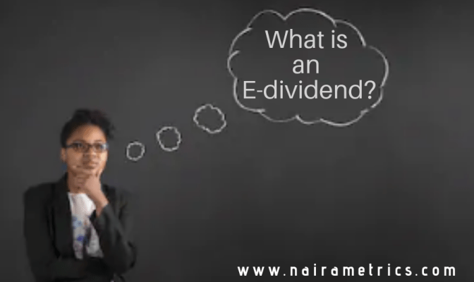 What is an e-dividends