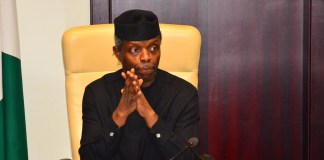 VP Osinbajo in self-isolation over Coronavirus