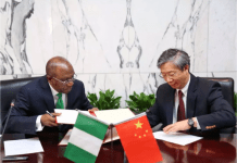 China and Nigeria sign Currency Swap Deal.