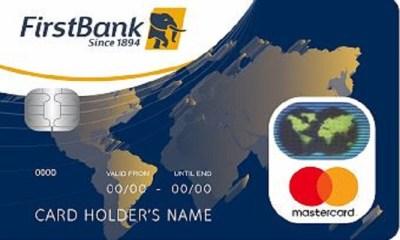 First bank contactless naira mastercard