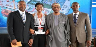 Ladol's MD, Amy Jademisi with her father, Oladapo Jadesimi (Ladol's Chairman) and others