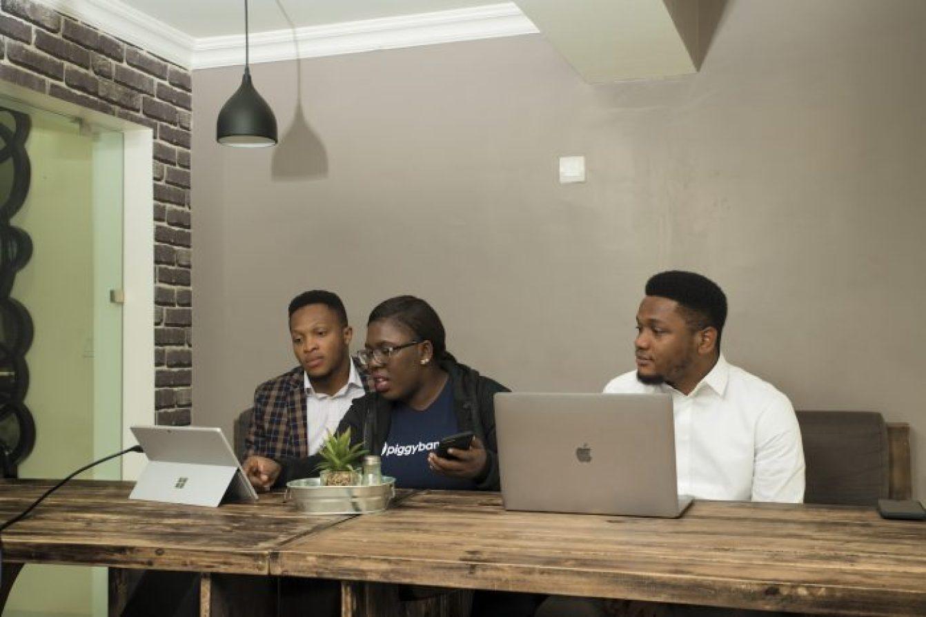 Somto Ifezue, Odunayo Eweniyi and Joshua Chibueze [l-r] PiggybankNG Co-founders_small