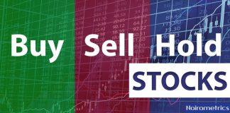 Nigerian stocks, Buy Sell Hold, results