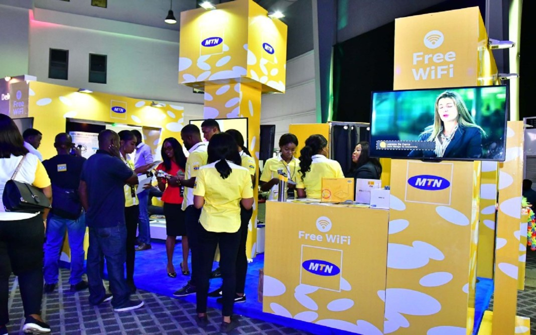 MTN stand at TechFest 2018