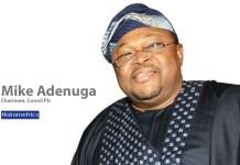 Mike Adenuga, Chairman, Board of Directors, Conoil Plc