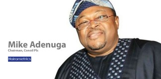 Mike Adenuga, Chairman, Board of Directors, Conoil Plc