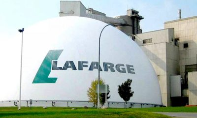 Lafarge Africa provides grant for startups, Lafarge Africa's latest earnings report reveals 8.5% decline in gross profit , Lafarge Africa gets new CFO one month after resignation of former finance director, Lafarge Plc reveals why it invited Italian man with Coronavirus to Nigeria, Lafarage Africa group Plc posts a revenue of N213 billion in 2019, profit up N17 billion, Lafarge moves to sell 35% shareholding in Continental Blue Investment Ghana Limited