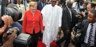 Angela Merkel & Buhari