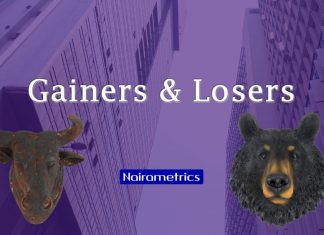 Gainers and Losers