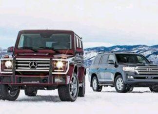Mercedes Benz vs Toyota