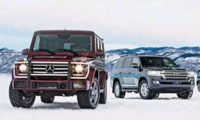 Mercedes Benz vs Toyota