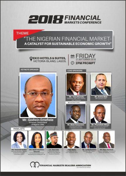 Emefiele, Elumelu, IMF Chief, others for FMDA Conference