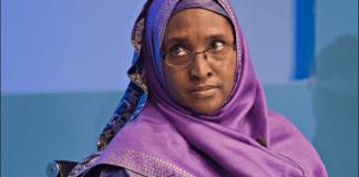 Minister of Financ, Zainab Ahmed