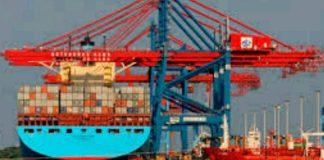 Nigerian sea port