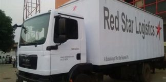 Red Star Express Plc cargo business