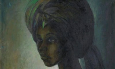 African Mona Lisa - Famous painting by Nigerian sold for $1.6 million goes on display in Lagos