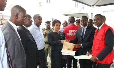 EFCC targets slush funds