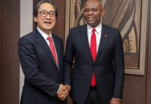 Tony Elumelu, UBA, JETRO, Entrepreneurship, Japan External Trade Organisation, Davos, Switzerland