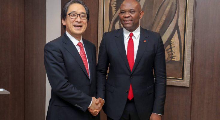 Tony Elumelu, UBA, JETRO, Entrepreneurship, Japan External Trade Organisation, Davos, Switzerland