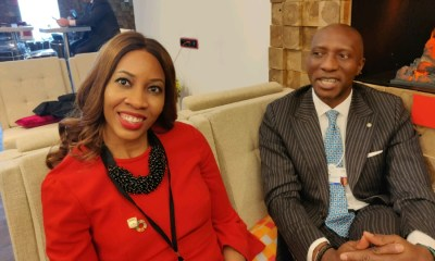 Sahara Group, Oscar Onyema - NSE CEO urges higher governance standards at WEF, commends Sahara Group on SDGs