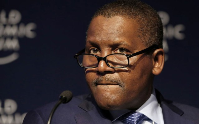 Aliko Dangote, Milk importation, CBN, You probably wouldn't know Dangote dances until you watch this video
