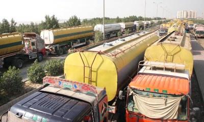 Lagos clears tankers for Buhari