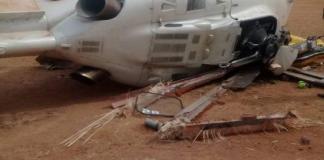 Vice President Yemi Osinbajo survives crash landing