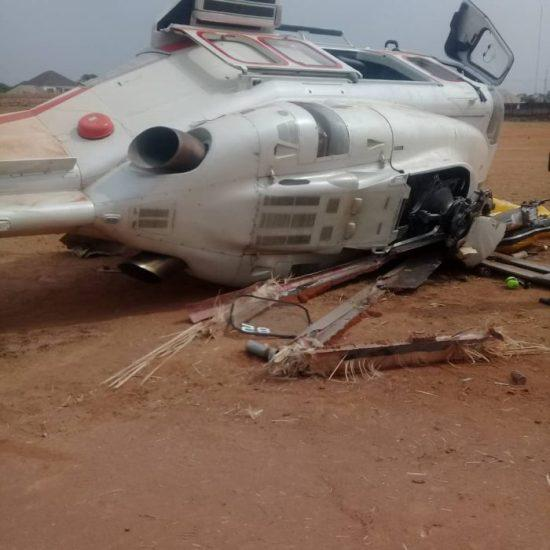 Vice President Yemi Osinbajo survives crash landing