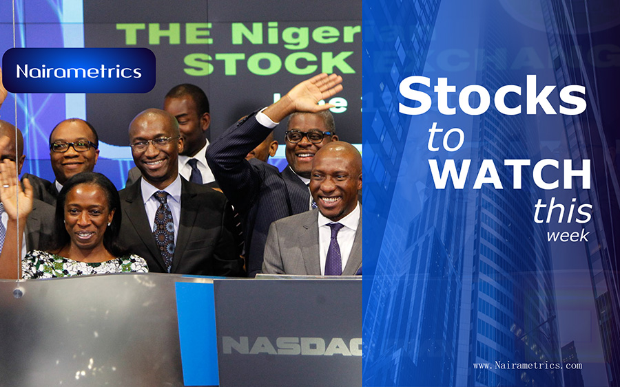 Stocks to watch on the Nigerian Stock Exchange week to date May 3 2019