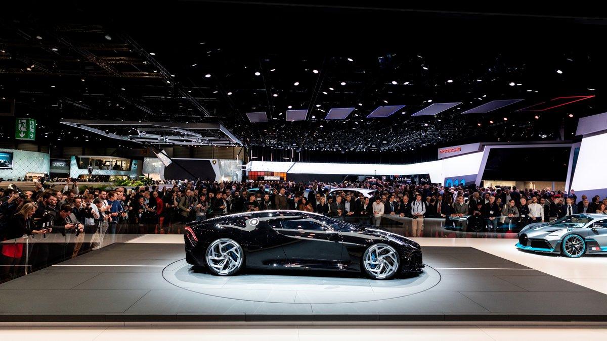Bugatti debuts $14 million one-off La Voiture Noire supercar